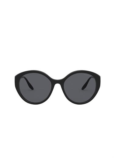 Prada Prada 0Pr 18Xs 55 Ekartman Black Kadın Güneş Gözlüğü Renksiz